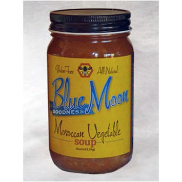 Blue Moon Goodness, All-Natural, Gluten-Free, Vegan Soup Varieties (Moroccan Vegetable, 16 ounce)