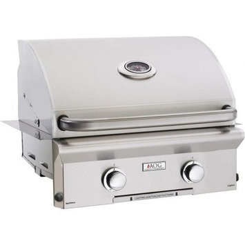 American Outdoor Grills 30 AOG Built-In L Series Grill w/Burner and Light - NG