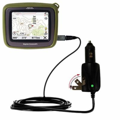 Intelligent Dual Purpose DC Vehicle and AC Home Wall Charger suitable for the Magellan Crossover - Two critical functions, one unique charger - Uses G