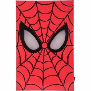 Marvel LED-Lit Hero Face MDF Box Art, Spider-Man