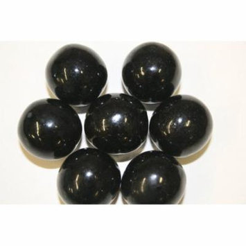 GUMBALLS BLACK 25mm or 1 inch (285 count), 5LBS