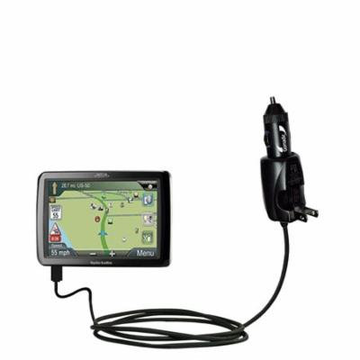 Intelligent Dual Purpose DC Vehicle and AC Home Wall Charger suitable for the Magellan Roadmate RV9365T-LMB - Two critical functions, one unique charg