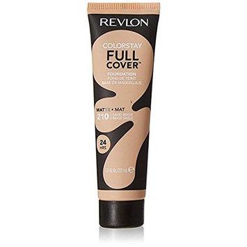 Revlon ColorStay Full Cover Matte Foundation, 220 Sand Beige, 1.0 fl oz (Pack of 2)