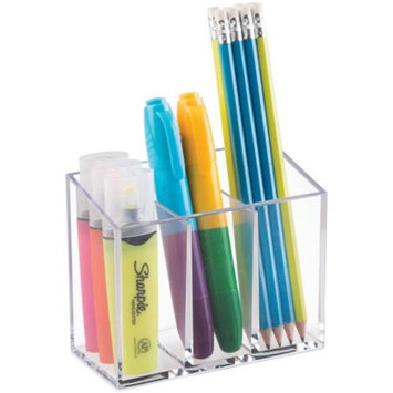 Mainstays Divided Organizer, Clear