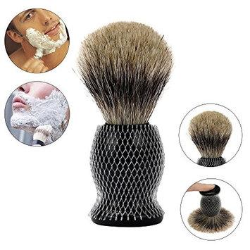 DZT1968 1pc ZY Pure Badger Hair Shaving Brush Resin Handle Best Shave Barber black
