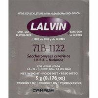 Lalvin Wine Yeast 71B 1122 Yeast, 10 Packs