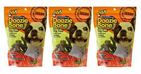 Fido Naturals Doozie Bone - Dental Care Dog Treat, Salmon Flavored, 13ct - Small Treats (Pack of 3)