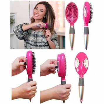 vecceli Italy SCB-100PNK Self Cleaning Hair Brush, Pink