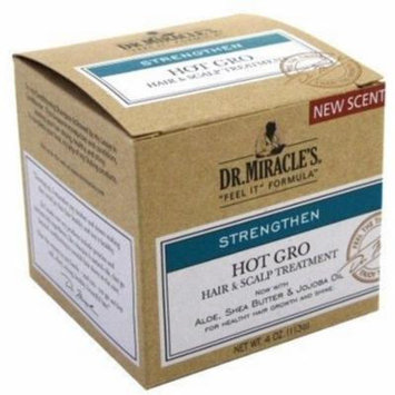 Dr. Miracle's Strengthen Hot Hair & Scalp Treatment, 4 oz (Pack of 3)