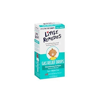 Little Remedies Tummys Gas Relief Drops, Natural Berry Flavor, 1 Ounce (Pack of 5) by Little Remedies
