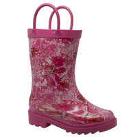 Case IH Toddler's Camo Rubber Boot Pink