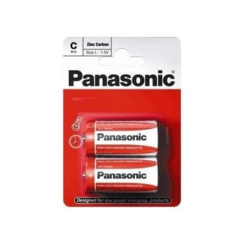 Panasonic Zinc Carbon Batteries, C Size