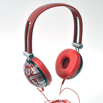 Ecko Unltd. Headset - Stereo - Red - Mini-phone - Wired - 20 Hz - 20 kHz - Over-the-ear - Binaural - Ear-cup - 3.90 ft Cable