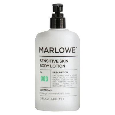 Marlowe. No. 003 Sensitive skin body lotion 15 oz