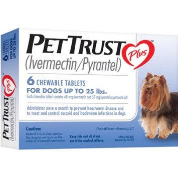 PetTrust Plus (Ivermectin / Pyrantel), 6 Month Supply