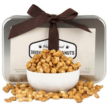 Sugar Plum Chocolates Irish Stout Infused Peanuts Gift Tin