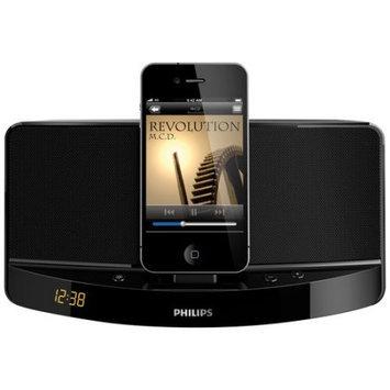 Philips AD300/37 iPod iPhone Docking Speaker Black