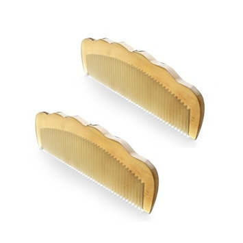 100% Handmade Natural Sheep Horn Comb Premium Quality Large Size Anti Static Hair Comb Without Handle