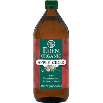 Eden Organic Apple Cider Vinegar, 16 fl oz, (Pack of 2)