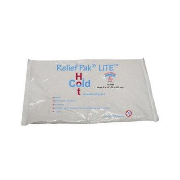 F.e.i. Relief Pak Lite reusable hot/cold pack, 8 x 14