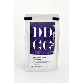 Decadent Decaf Coffee Co. Decaffeinated Viva Central American Medium Roast Decaf Whole Bean Coffee 8oz (227g)