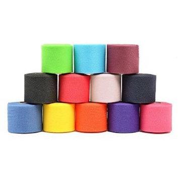 ELA Sports Vet Wrap Tape 2 inch Bandage Pet,Self Adhering Stick Bandage, (2