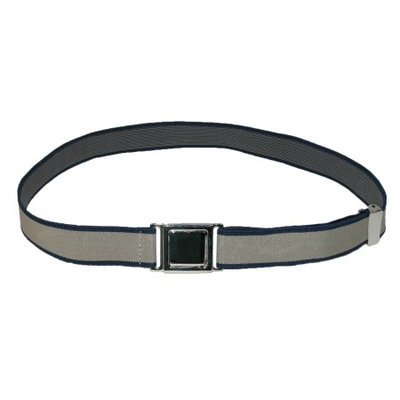 CTM Kids Easy Clasp Two Tone Adjustable Stretch Belt