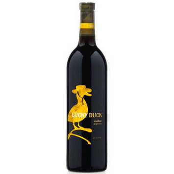 Lucky Duck Malbec Wine, 750 mL