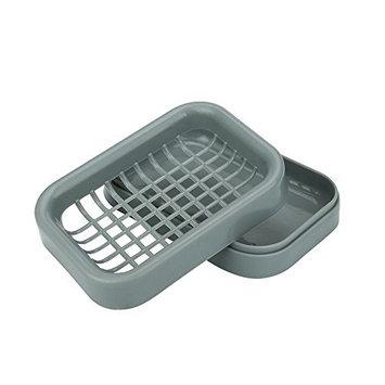 Soap Holder,Faber3 Soap Dish Shower 8 Colors Brand New Travel Plastic Soap Dish Box Case Holder (C)