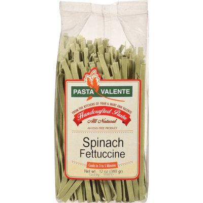 Pasta Valente Spinach Fettuccine Handcrafted Pasta, 12 oz