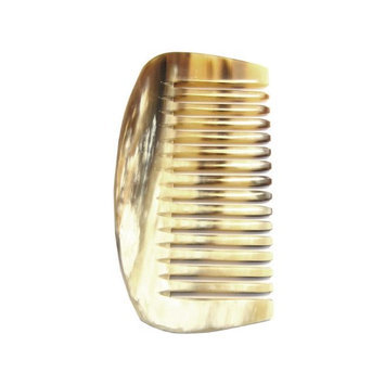 Pfeilring 4 Genuine Horn Afro Comb