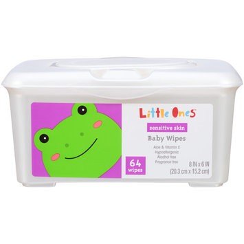 Little Ones L1 BABY WIPES FRAGRA64C FREE 64CT TUB