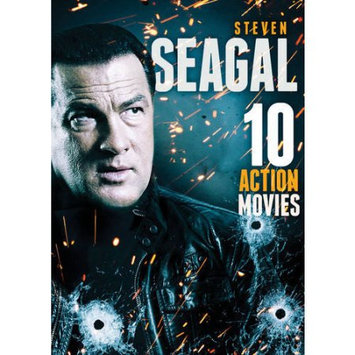Alliance Entertainment Llc 10-film Action Featuring Steven Seagal (dvd) (2 Disc)