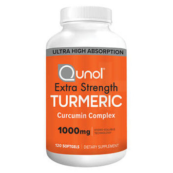 Qunol Extra Strength Turmeric Curcumin Complex, 120 ct./1000mg.