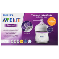 Philips Avent Natural Bottle 4oz3pk
