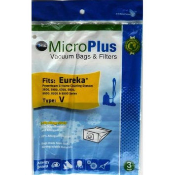GK MicroPlus For Eureka GKH-EURV Microplus 3 Ply Biodegradable Vacuum Bags Pack of 75