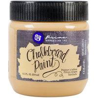 Prima Marketing Chalkboard Paint 8.5Oz-Golden Brown