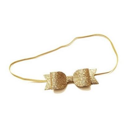 2017 Baby/child/girls Headhand Gold Glitter Headbands buy 1 get 1 free