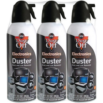 Falcon Safety Products Falcon Dust-Off Compressed 3-Pack Air Dusters