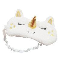 Funbase 3D Unicorn Horn Sleep Eye Mask Soft Padded Travel Eyepatch Blindfold(No Icebag)