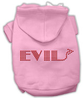 Mirage Pet Products 5428 LGPK Evil Hoodies Pink L 14