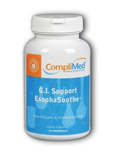 GI Support EsophaSoothe 60 chews by Complimed