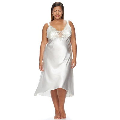 Plus Size Flora by Flora Nikrooz Stella Charmeuse Gown