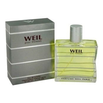 Weil Pour Homme by Weil Eau De Toilette Spray 3.4 oz Men 3.4 oz