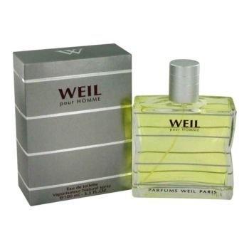 Weil Pour Homme by Weil Eau De Toilette Spray 3.4 oz Men 3.4 oz