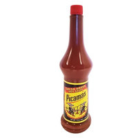 B & B B Picamas Red Hot sauce 7.5 oz - Salsa Roja picante (Pack of 18)