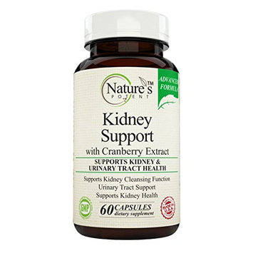 Nature's Potent - Kidney Support & Cleanse, Supplement with Cranberry Extract, 60 Capsules [1]