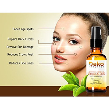 Deko Vitamin-C Anti-Aging Serum with Hyaluronic Acid