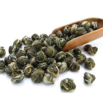 Tealyra - Imperial Jasmine Dragon Pearls - Loose Leaf Green Tea - Jasmine Green Tea with Pleasant Aroma and Tonic Effect - 113g (4-ounce)