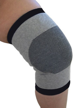 Knee Support Small Grey/Black Bands Bamboo Pro 1 Pack